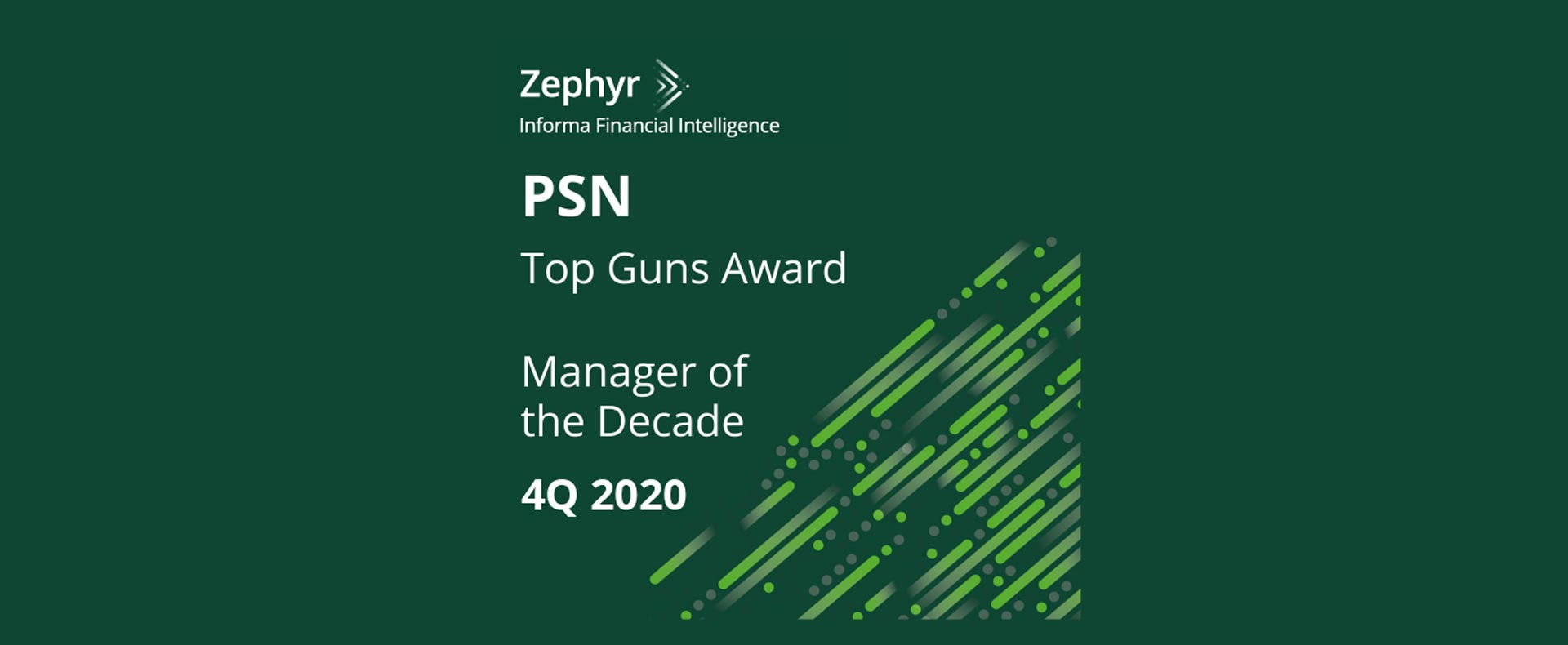 Churchill Management Group Awarded PSN Top Gun – Manager of the Decade by Informa Financial Intelligence