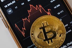 Bitcoin Stock Market Image